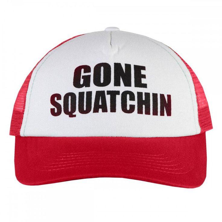 Finding Bigfoot - Gone Squatchin Trucker Cap