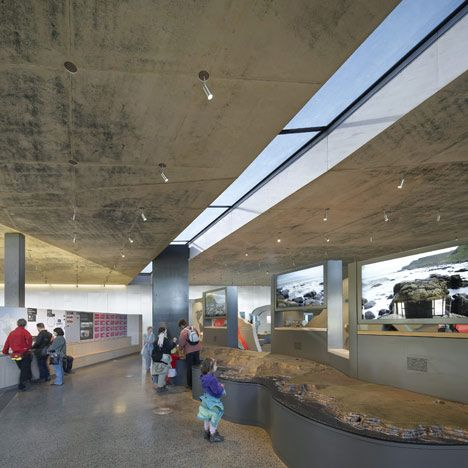 Giants Causeway Visitors Centre By Heneghan Peng Architects