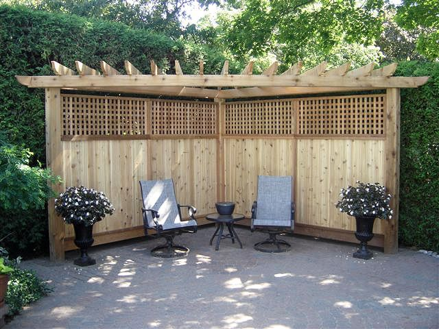 17 best ideas about backyard privacy on pinterest patio for Back fence screening ideas