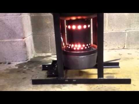 Drip Feed Waste Oil Burning Heater Finished