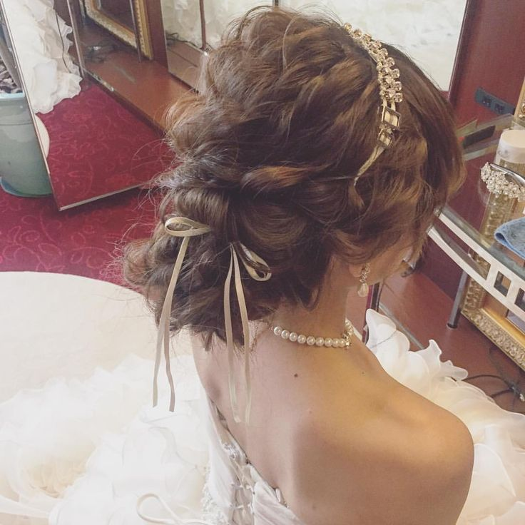 北海道ありがとうーー⛄️ 今回は遊べなかったのでまた来ます‼︎ さぁ、東京へ✈️ #プレ花嫁 #ブライダルヘア  #ヘアアレンジ #ウェディングドレス #hair #weddingdress #updo