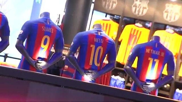Lettering Time: Tipografías de las camisetas de la liga 2016/2017 (Barcelona F.C, Real Madrid, Atlético de Madrid, Valencia C.F, y mucho más)