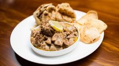 Creamy Lemon Pepper Chicken with Paratha and Potato Wafers nidhi from masterchef