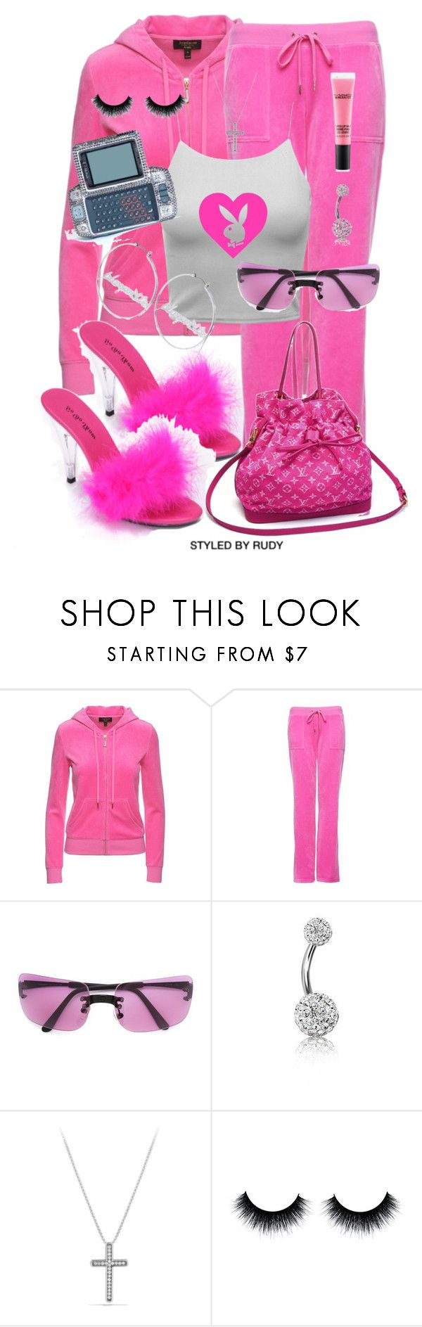 """Untitled #1127"" by styledbyrudy ❤ liked on Polyvore featuring Juicy Couture, Chanel, Bling Jewelry and David Yurman"