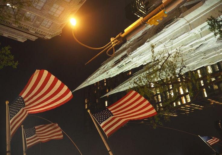 Churches & flags, NYC