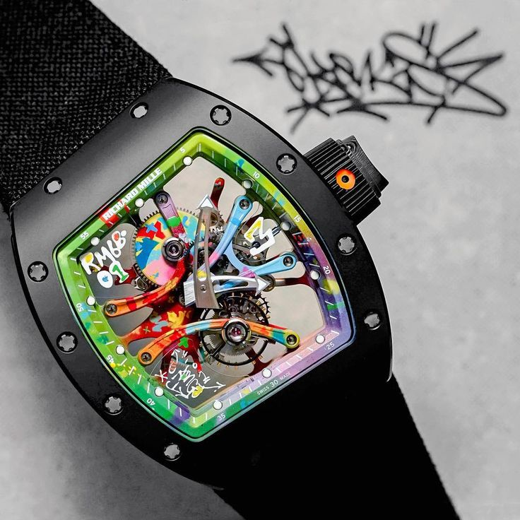 @kongo_art by @richardmillemiddleeast  #richardmille  #ARacingMachineOnTheWrist  #KongoArt