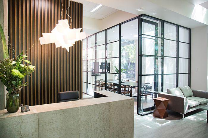 Beulah International Melbourne - Reception desk and client waiting area
