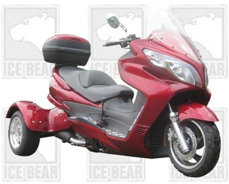 2011 IceBear Trike 300cc MiniMax 3 Wheel Scooter