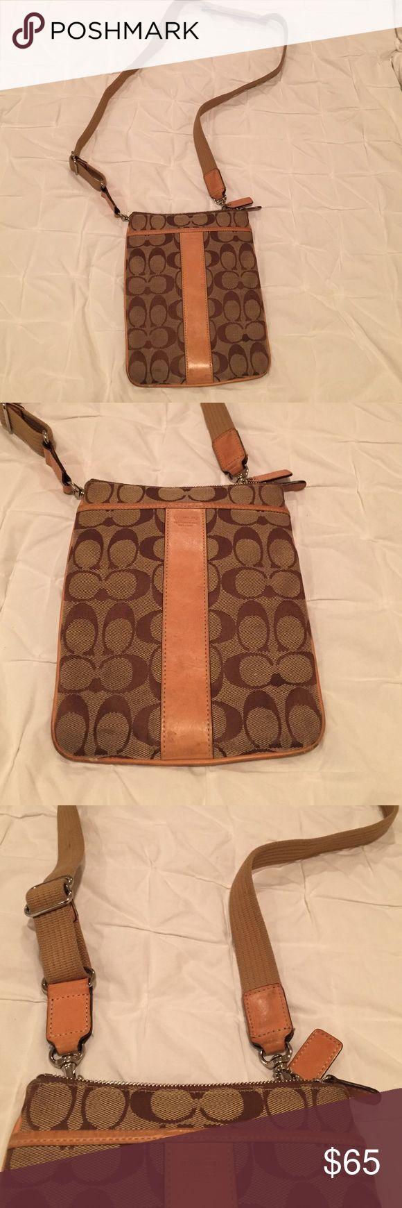 Coach Messenger Bag Coach Messenger bag. Shows signs of use. Coach Bags Crossbody Bags