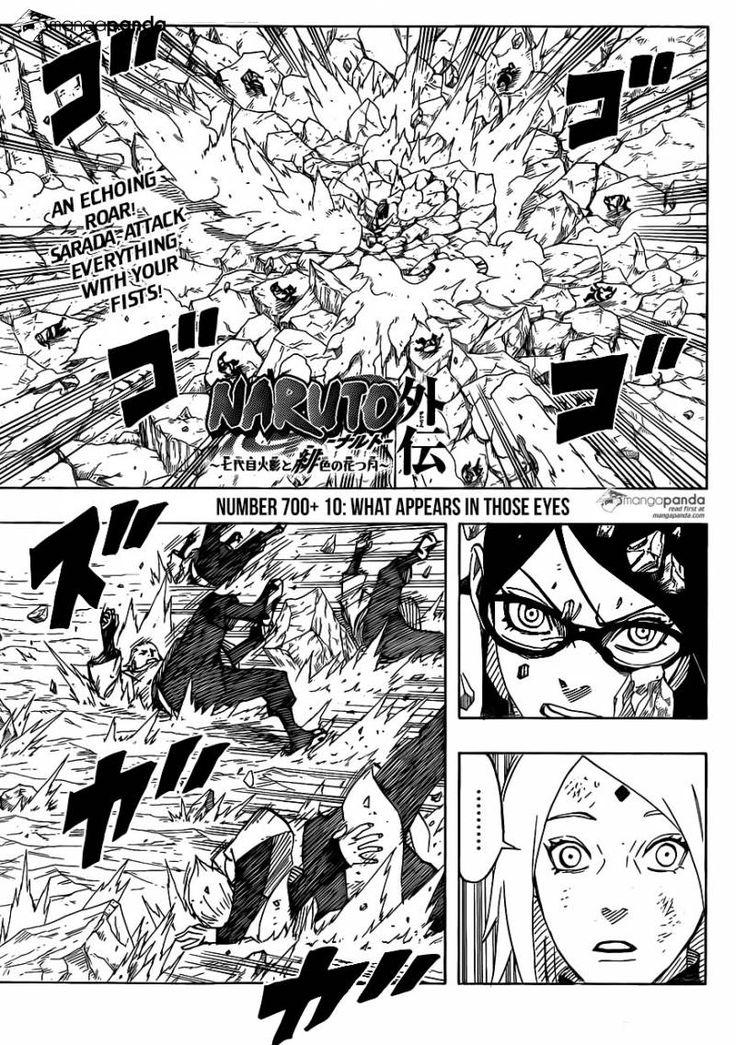 Naruto Gaiden: The Seventh Hokage 10 - Page 1 - GO SARADA!!! KICK SOME ASS!!!