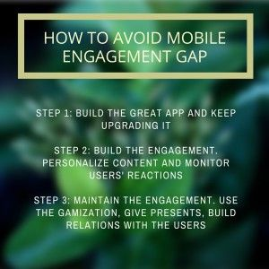 Mobile Marketing Automation | 3 steps to avoid the mobile engagement gap #CRMfroMobile #MobileMarketingAutomation #MobileMarketing #MarketingAutomation #mobileEngagementGap #EngagementGap #Engagement