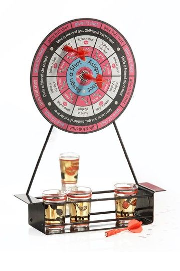 Pink Working Girls Darts Drinking Game Set by Jay Import on @HauteLook