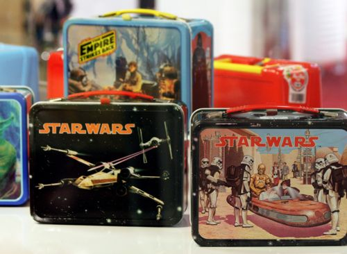 Star Wars lunchboxes!