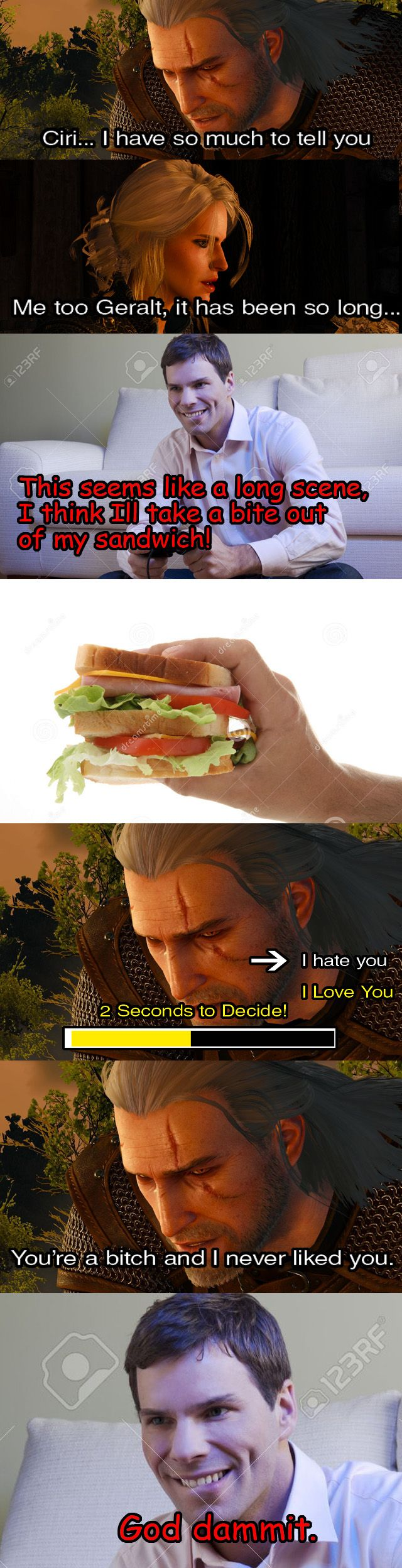 The reason I got the bad ending (Witcher 3) http://ift.tt/2dh4ayb
