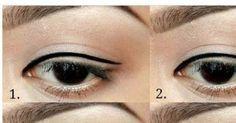 Einmal einen perfekten Eyeliner-Strich hinbekommen? Kein Problem!