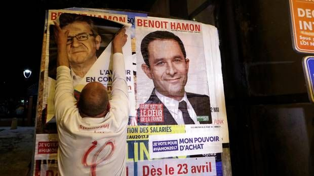 Financial markets fret as French presidential race tightens