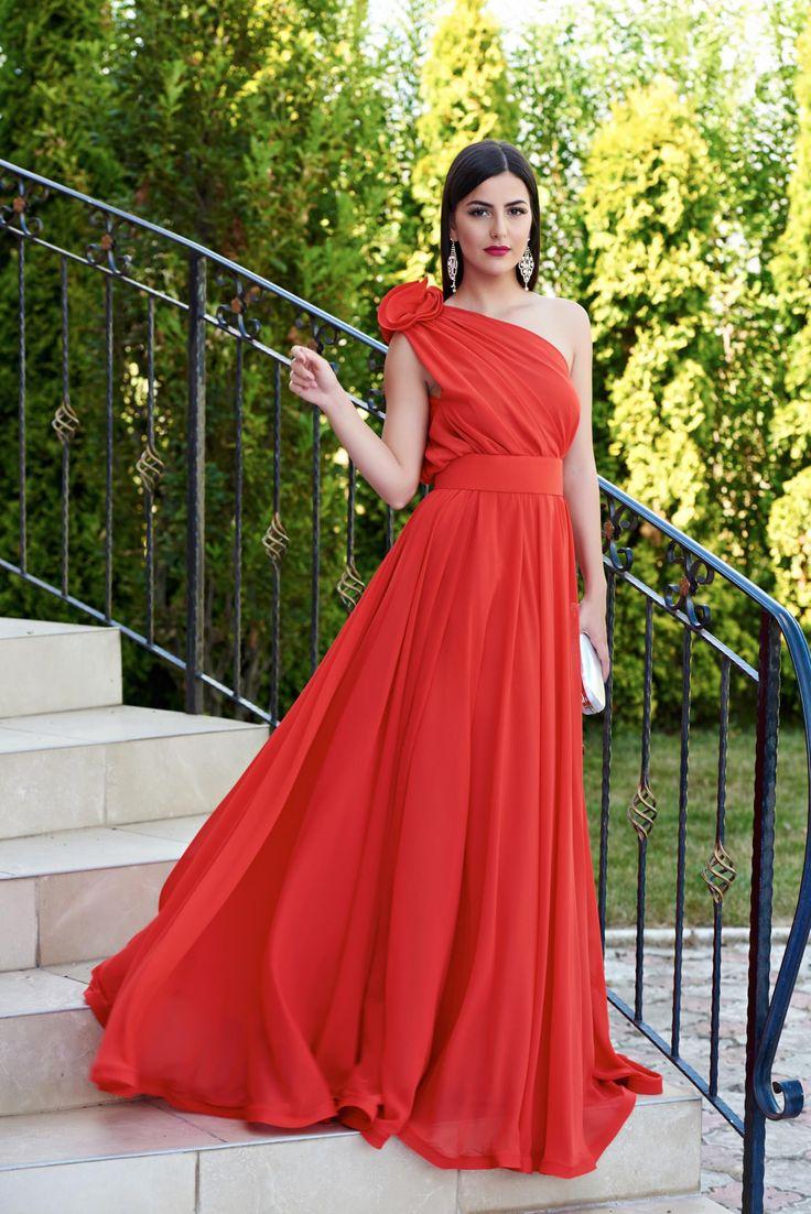 Comanda online, Rochie Ana Radu Selection Red. Articole masurate, calitate garantata!