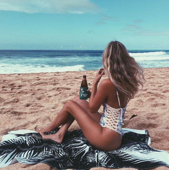Why We're Obsessed With This Beach Bum Halley Elefante is a health & wellness influencer as well as a blogger. After living in several different states, Hal