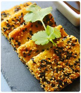 Tofu crocante