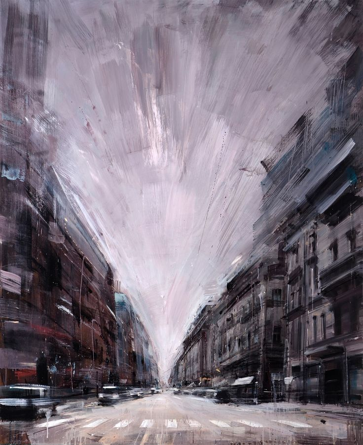 New Blurred Cityscapes by Valerio DOspina