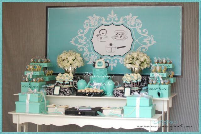 Mariana Sperb: Chá de Panela Azul Tiffany