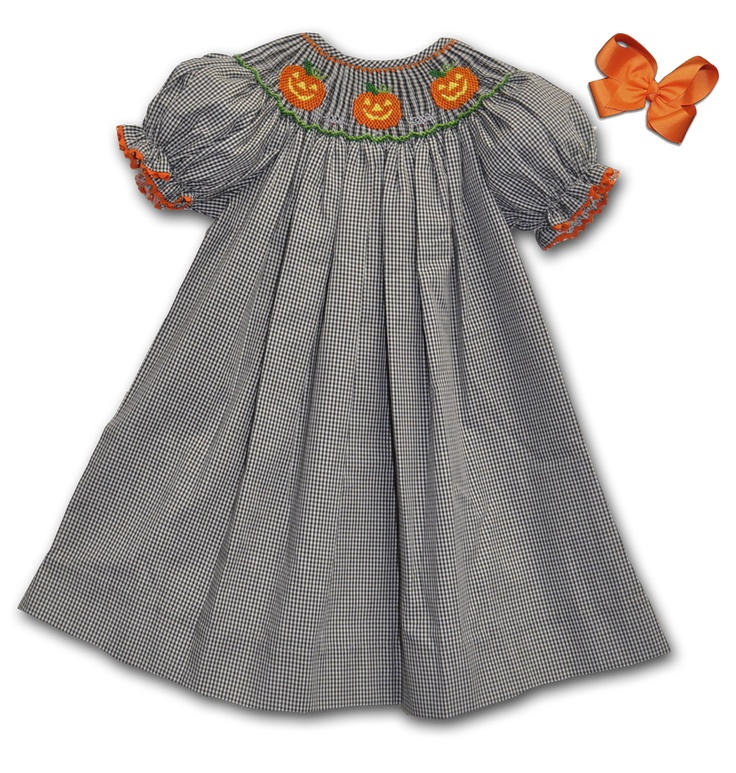 nike outlets near melbourne This and That For Kids   Hand Smocked Jack O Lantern Bishop Dress   35 00  http   www thisandthatforkids com hand smocked jack o lantern bishop dress