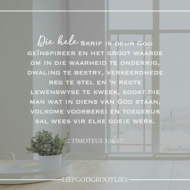 Week 6- 1 & 2 Timoteus -Memoriseervers