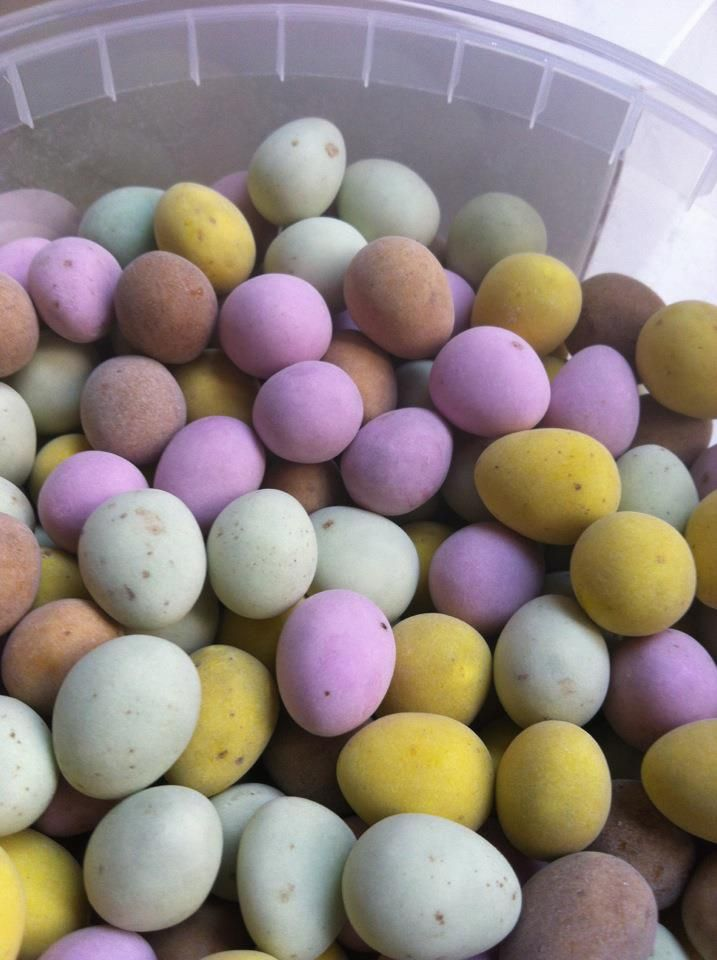 Lots of mini eggs #Easter www.abcinflatables.co.uk