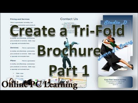 How to Make Brochures on Microsoft Word