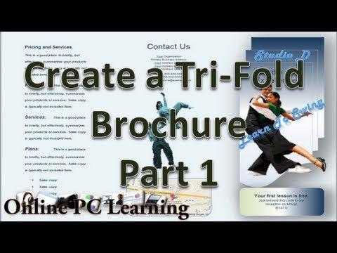 How to Make Brochures on Microsoft Word