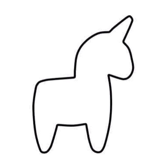 Unicorn Template Unicorn Plush Template Sewtastic