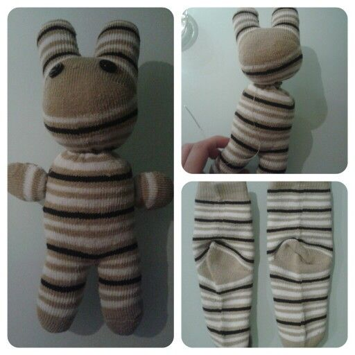 Muñeco hecho de calcetines