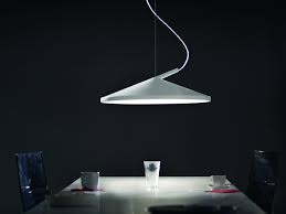Cone lamp by Luc Ramael in a living room