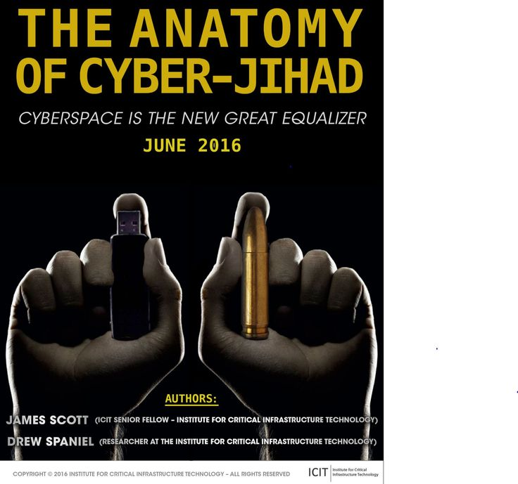 "Download ICIT's brief entitled ""The Anatomy of Cyber-Jihad: Cyberspace is the New Great Equalizer"" here"