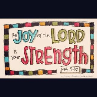Angie Speaks: the joy of the Lord is my strength