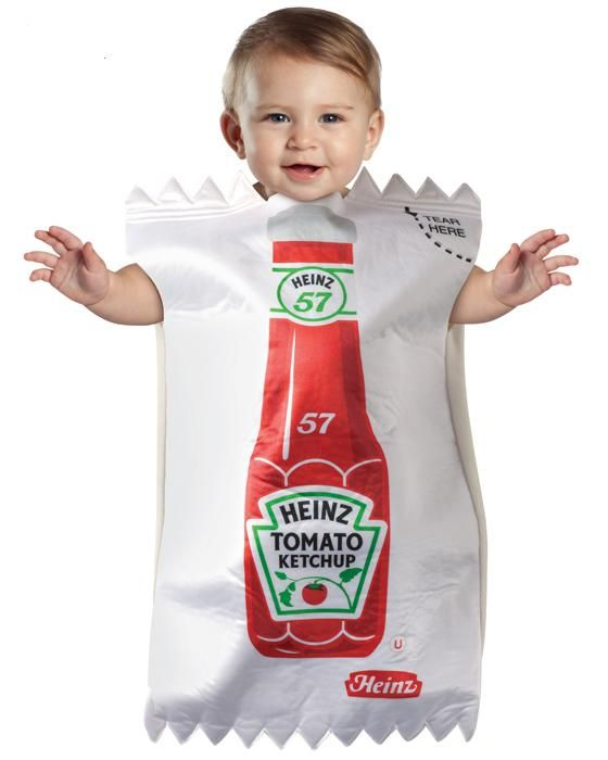 Heinz Ketchup Packet Bunting - The Costume Shop