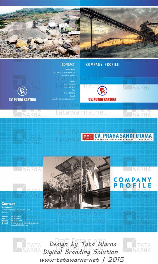 Contoh Company Profile#Web #Design #DesainLogo #DesignIcon #FullColour #CompanyProfile #Booklet