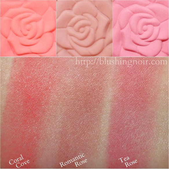 Milani Rose Powder Blush Swatches Spring 2015 Color Collection