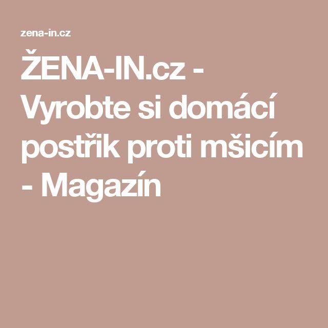 ŽENA-IN.cz - Vyrobte si domácí postřik proti mšicím - Magazín
