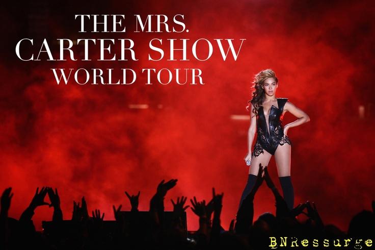 Sra. Carter World Tour