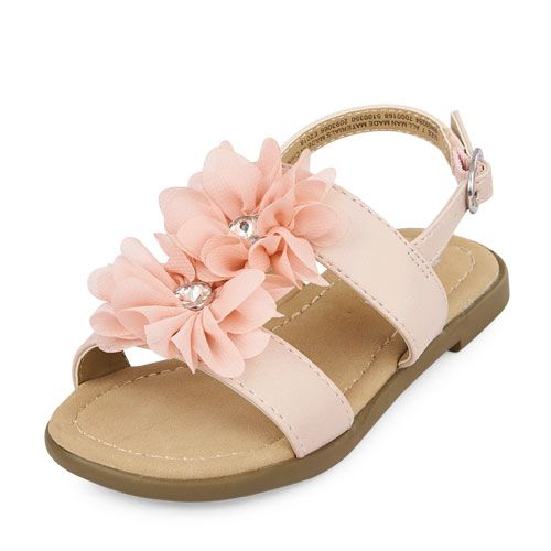 Girls SandalThe Metallic Toddler Zahara Children's Flower Place TcFKuJl13