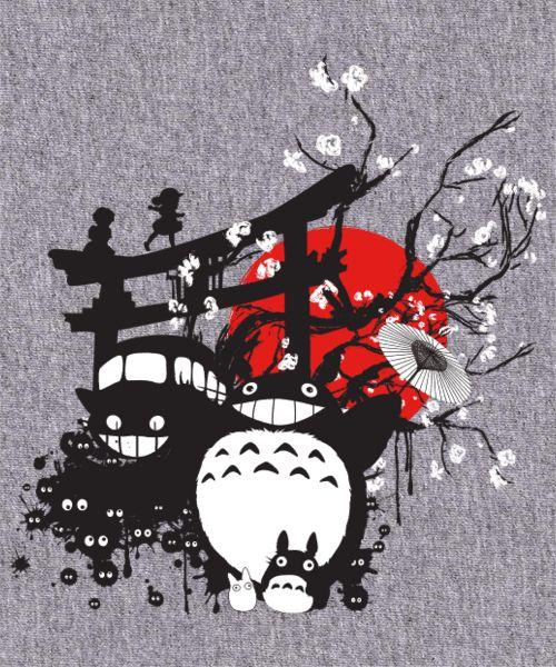 #Totoro Japan by IlonaHibernis ^__^                                                                                                                                                      Más