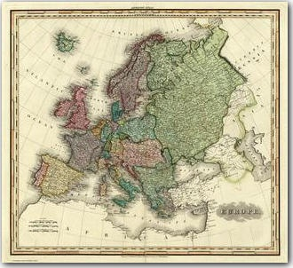 Best Maps Images On Pinterest Giclee Print Maps And United - 1823 us map