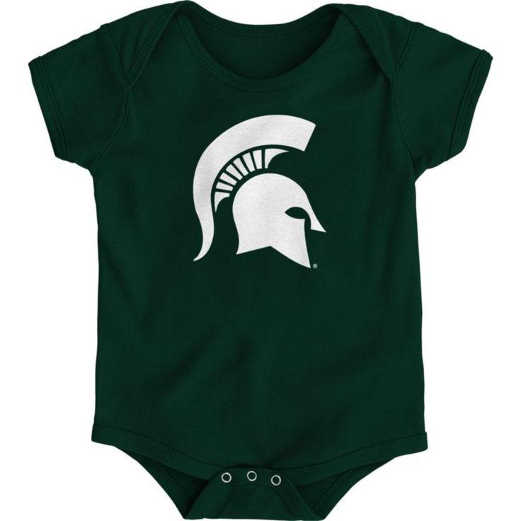 Gen2 Infant Michigan State Spartans Green Logo Onesie, Size: 3-6M, Team