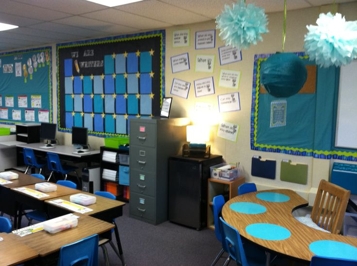 Miss Ward's Studious Second Grade Classroom