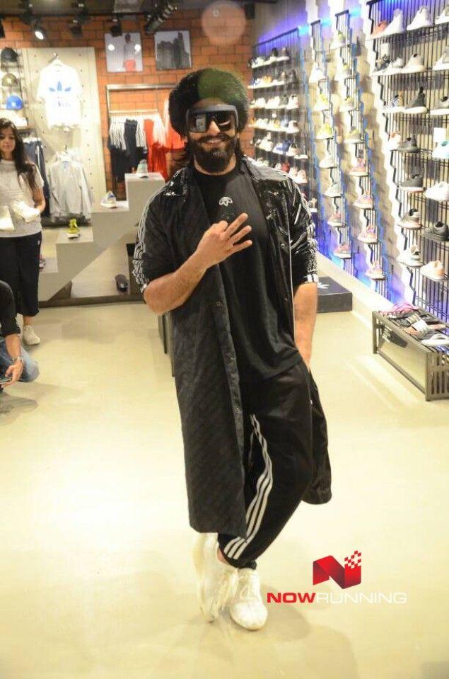 Ranveer Singh inaugurates new Adidas Originals store in Mumbai