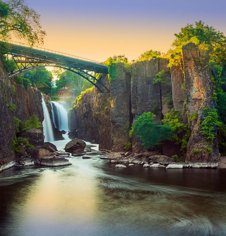 Beautiful Views of Waterfalls from 14 Bridges Around the World Photos | Architectural Digest