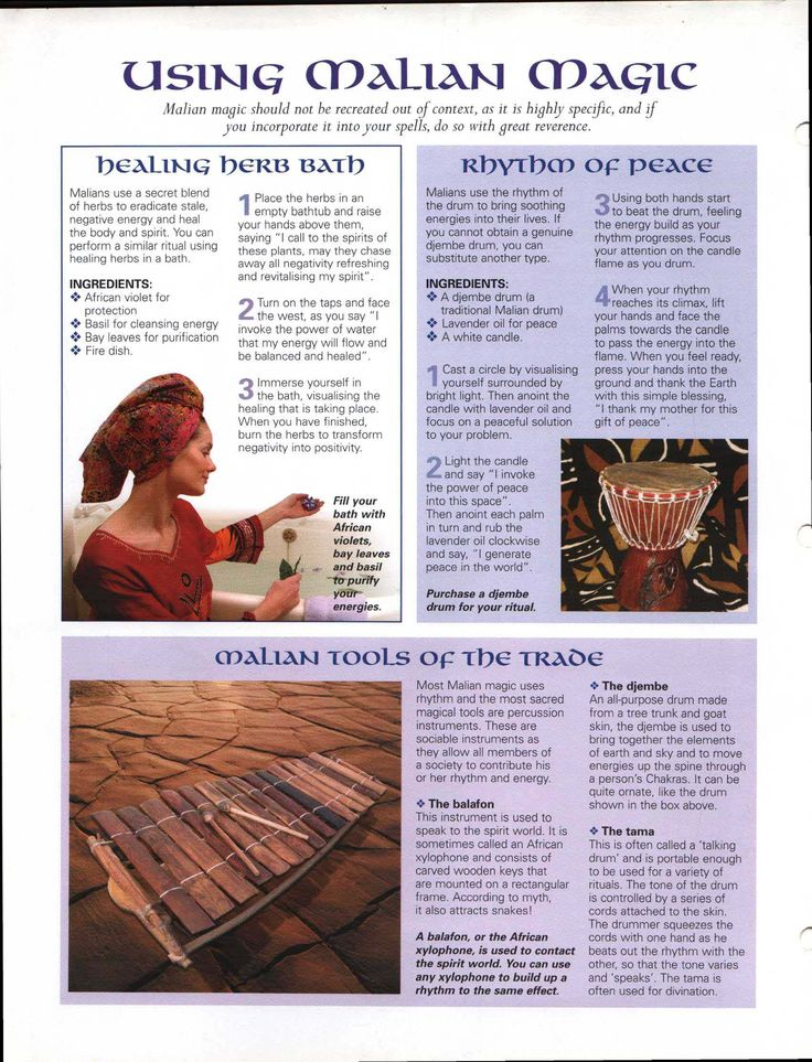 Using Malian Magick