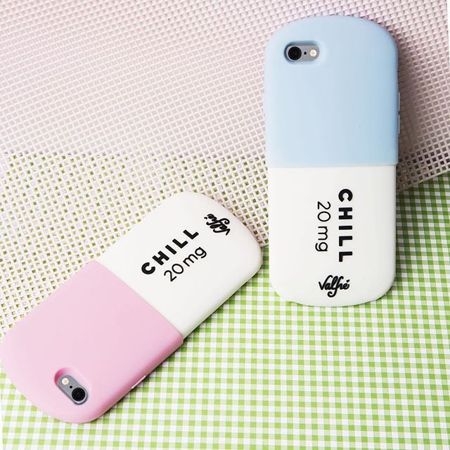 Chill Pill Phone Cases  Valfre.com #valfre