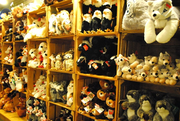 Cute fluffy and snuggly stuffed animals dollywood